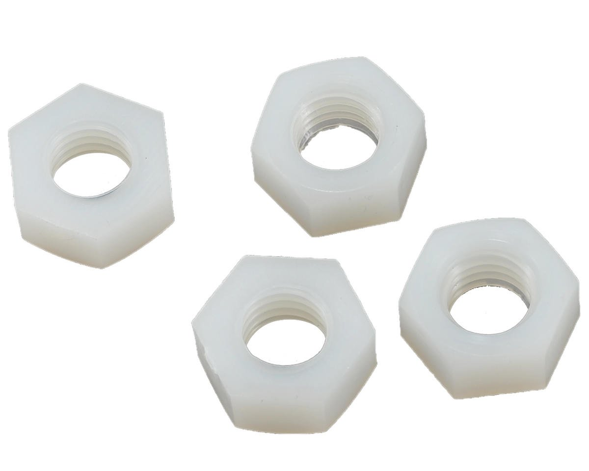 8mm Nylon Hex Nut (4) by SAB Goblin