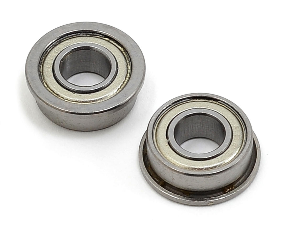 6x13x5mm Flanged ABEC-5 Bearing (2) by SAB