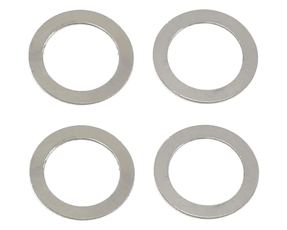 SAB 5x7x0.1mm Steel Washer (4)