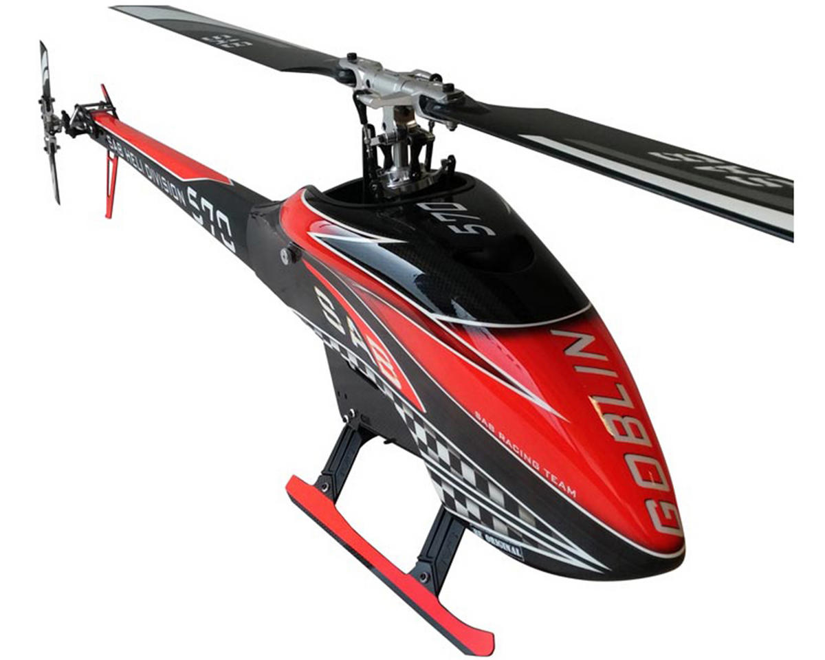 "SAB Goblin 570 ""Carbon Edition"" Flybarless Electric Helicopter Kit"