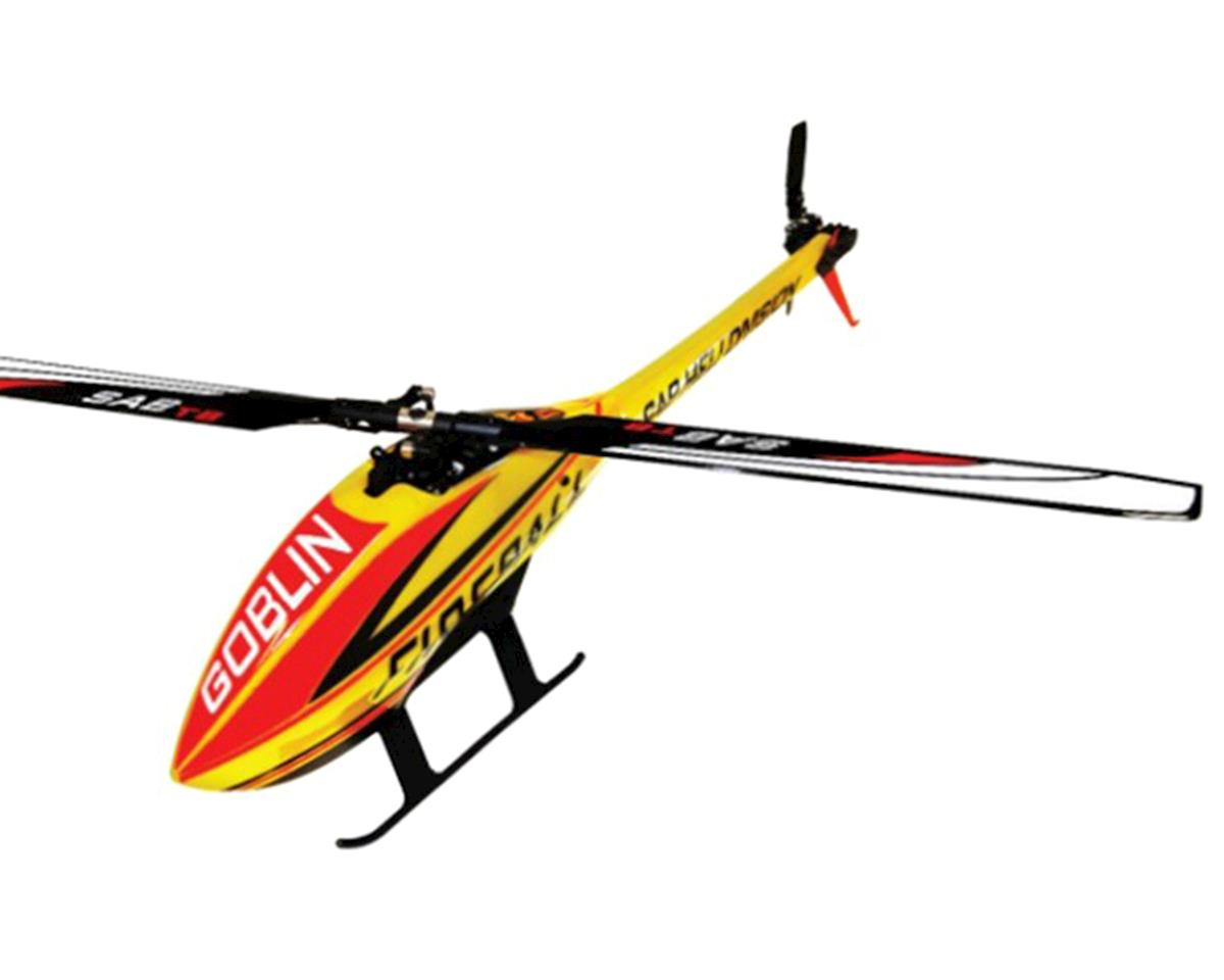 "SAB Goblin Fireball Electric Helicopter Kit ""Pro Combo"""