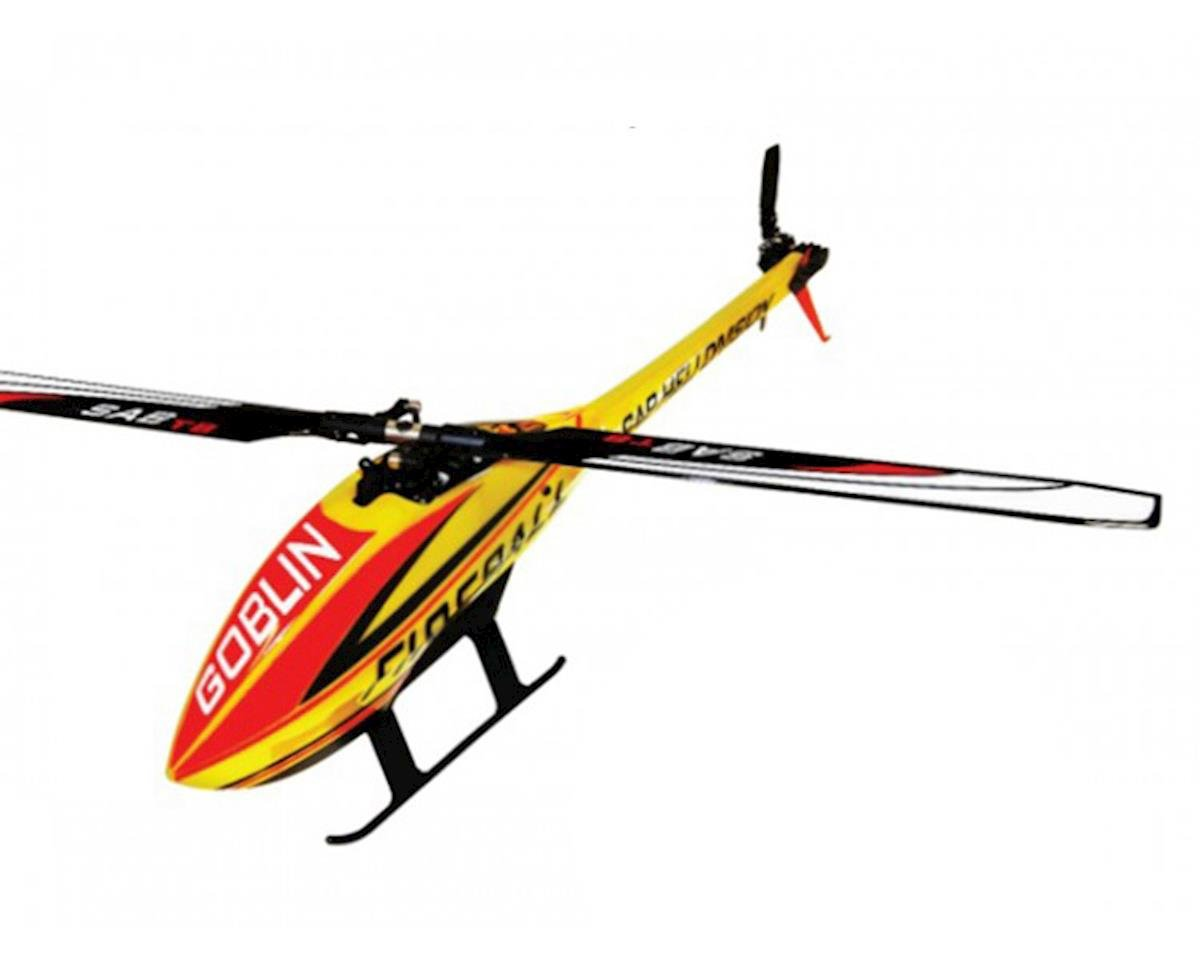 SAB Goblin Fireball Electric Helicopter Kit Super Combo