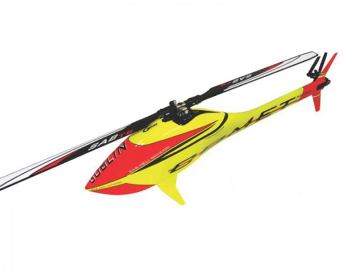 SAB Goblin Mini Comet Electric Helicopter Kit (Yellow/Red)