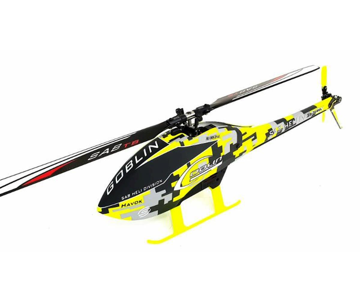 SAB Goblin Fireball Havok Edition Electric Helicopter Kit