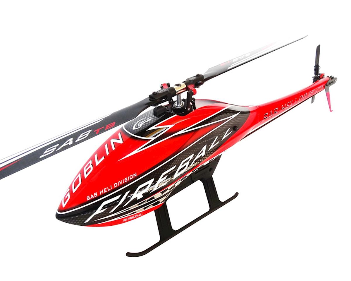 Goblin Fireball Competition Electric Helicopter Kit Super Combo