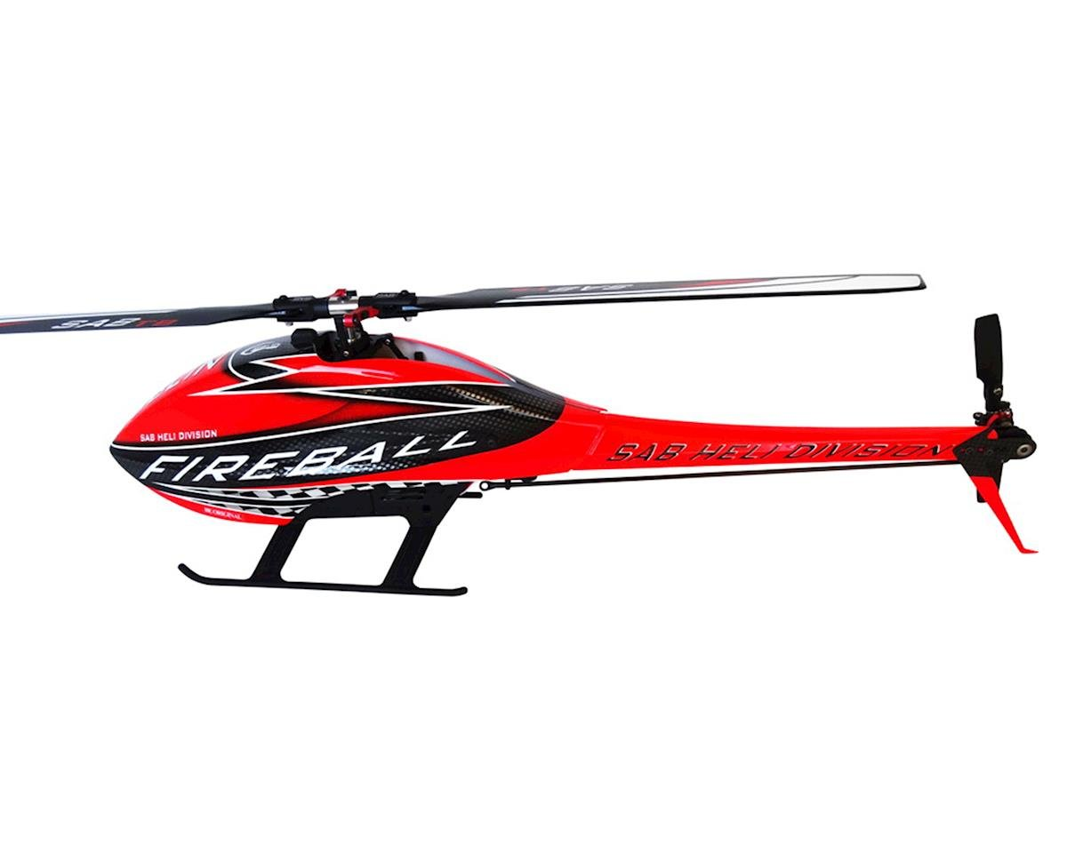 SAB Goblin Fireball Competition Electric Helicopter Kit Super Combo