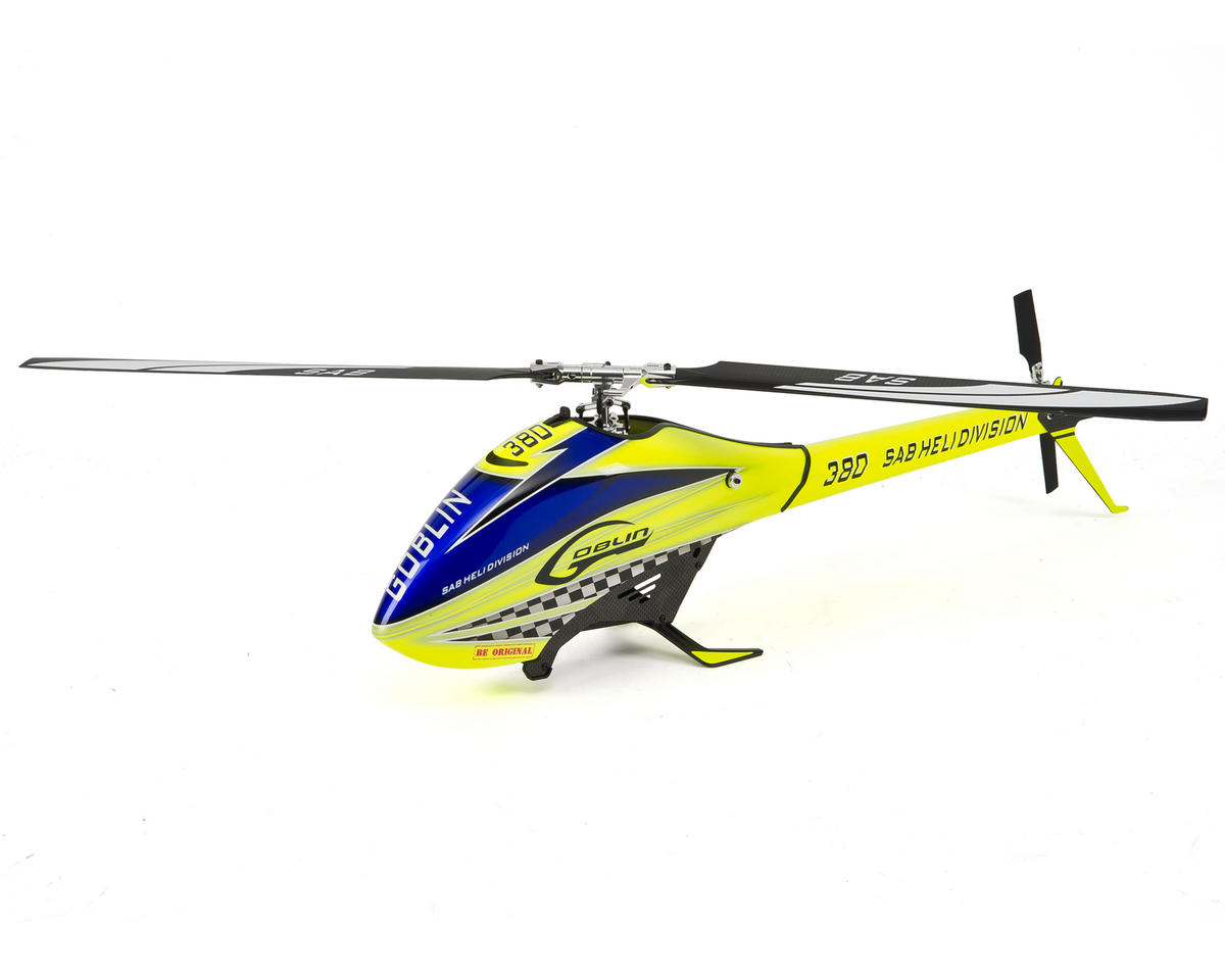 380 Flybarless Electric Helicopter Kit by SAB Goblin