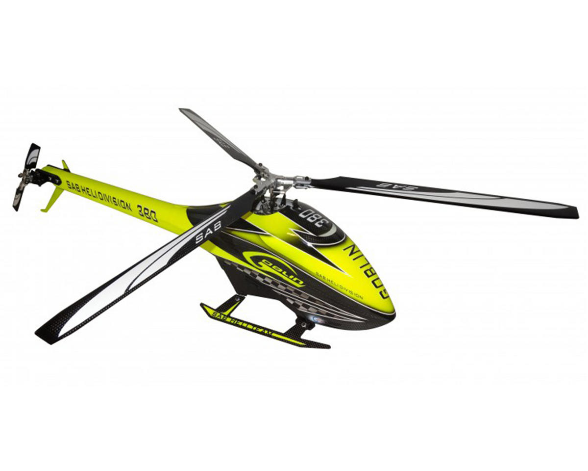 "SAB Goblin 380 ""Kyle Stacy Edition"" Flybarless Electric Helicopter Kit"