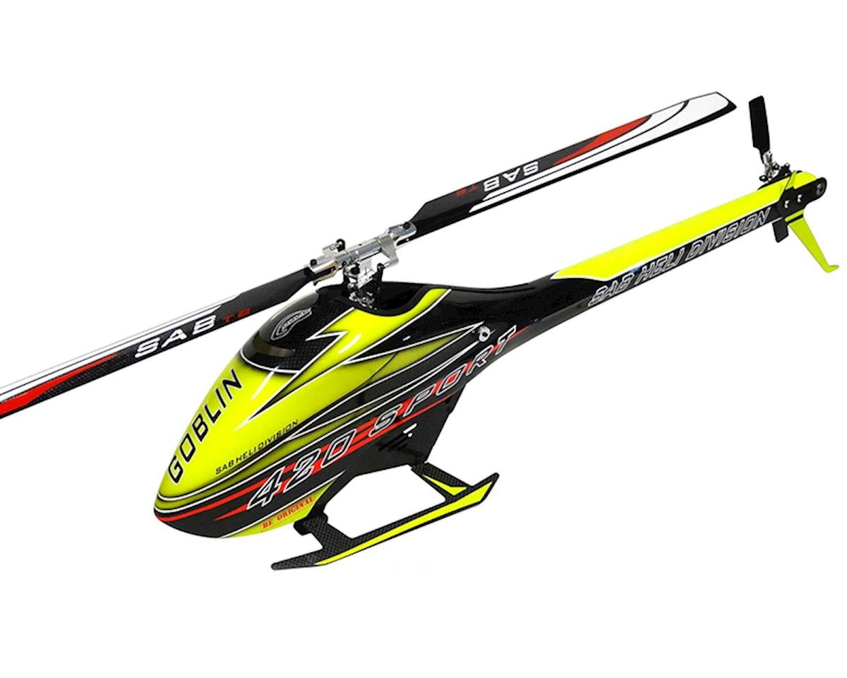 420 Flybarless Electric Helicopter Kit by SAB Goblin