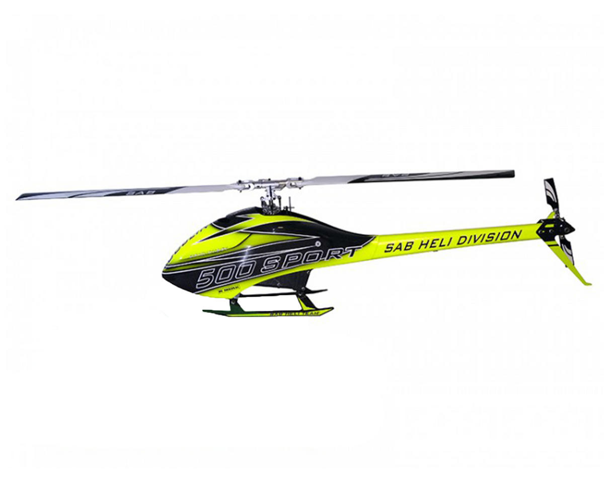 SAB Goblin 500 Sport Carbon Edition Flybarless Electric Helicopter Kit