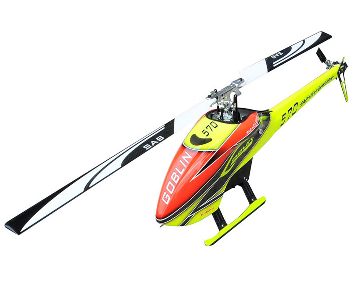 SAB Goblin 570 Flybarless Electric Helicopter Kit