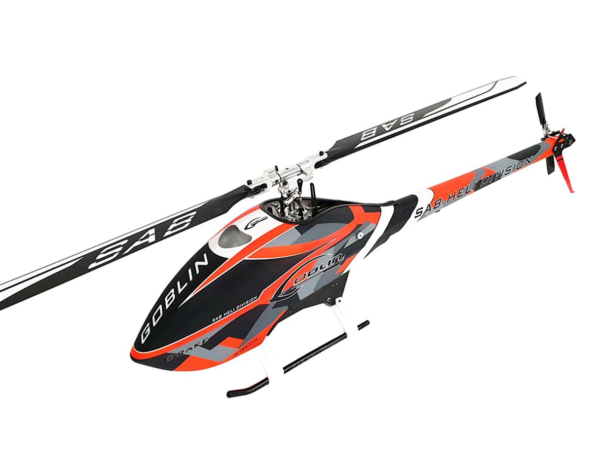 SAB Goblin 570 Sport Flybarless Electric Helicopter Kit (Drake Edition)