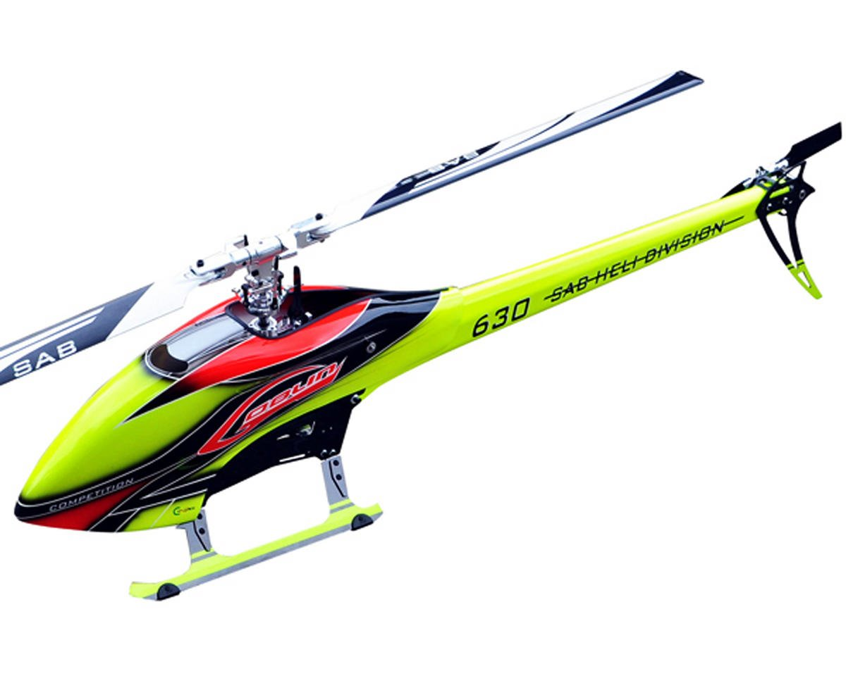 SAB Goblin 630 Competition Edition Flybarless Electric Helicopter Kit