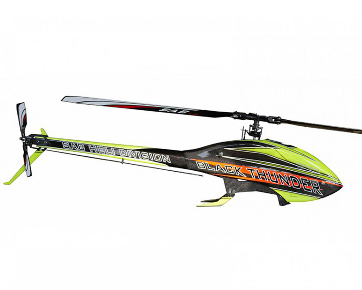 SAB Goblin Black Thunder 650 Flybarless Electric Helicopter Kit