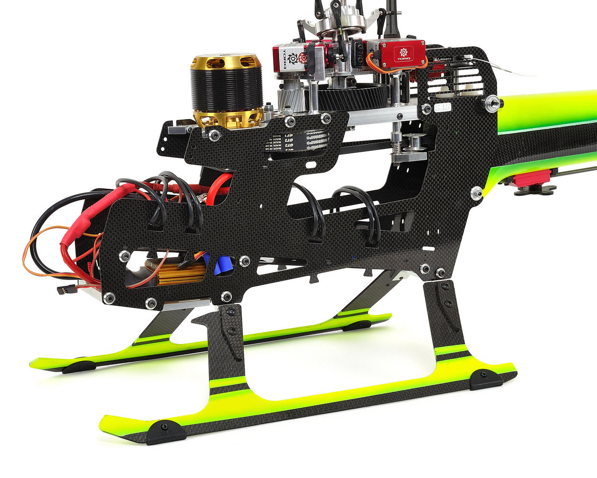 SAB Goblin 700 Flybarless Electric Helicopter Kit w/FREE J1S Cyclone Blades! (Green)