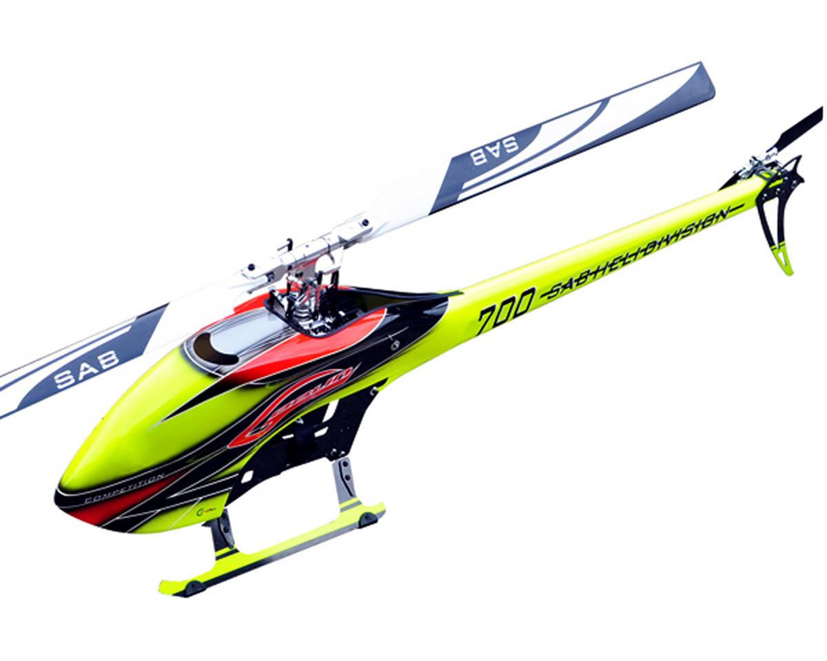SAB Goblin 700 Competition Edition Flybarless Electric Helicopter Kit