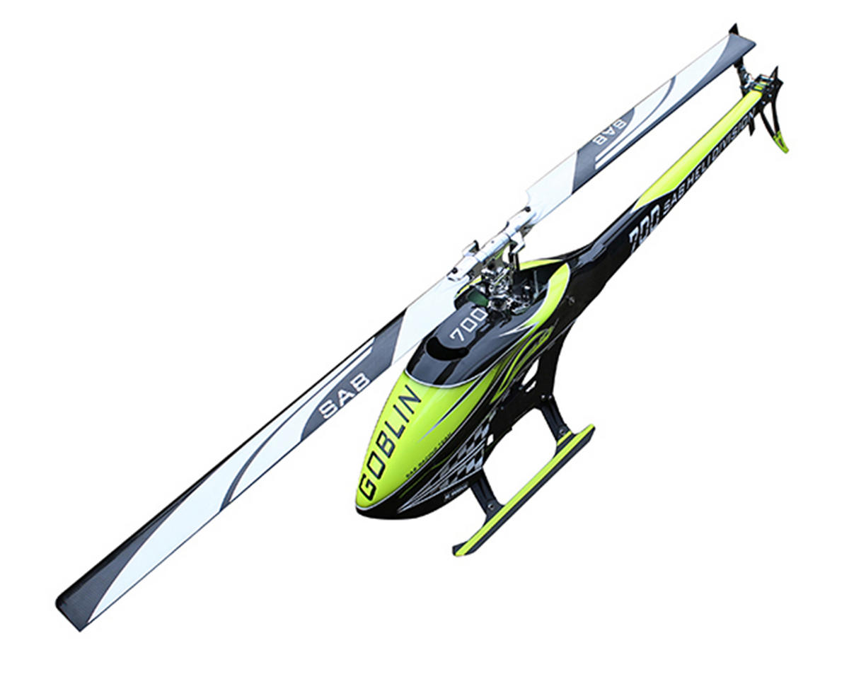 "SAB Goblin 700 ""Carbon Edition"" Flybarless Electric Helicopter Kit"