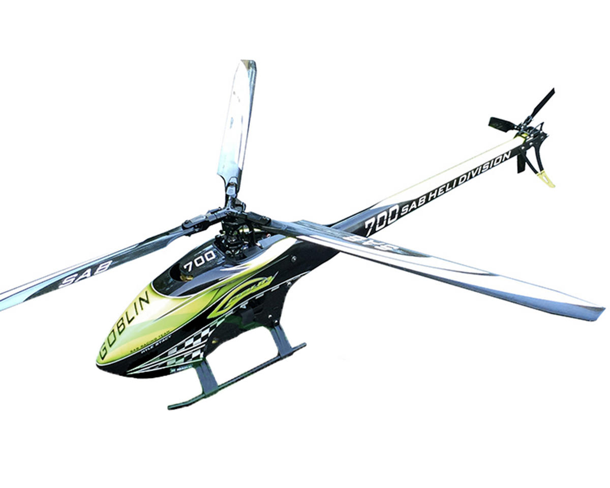 "SAB Goblin 700 ""Kyle Stacy Edition"" Flybarless Electric Helicopter Kit"