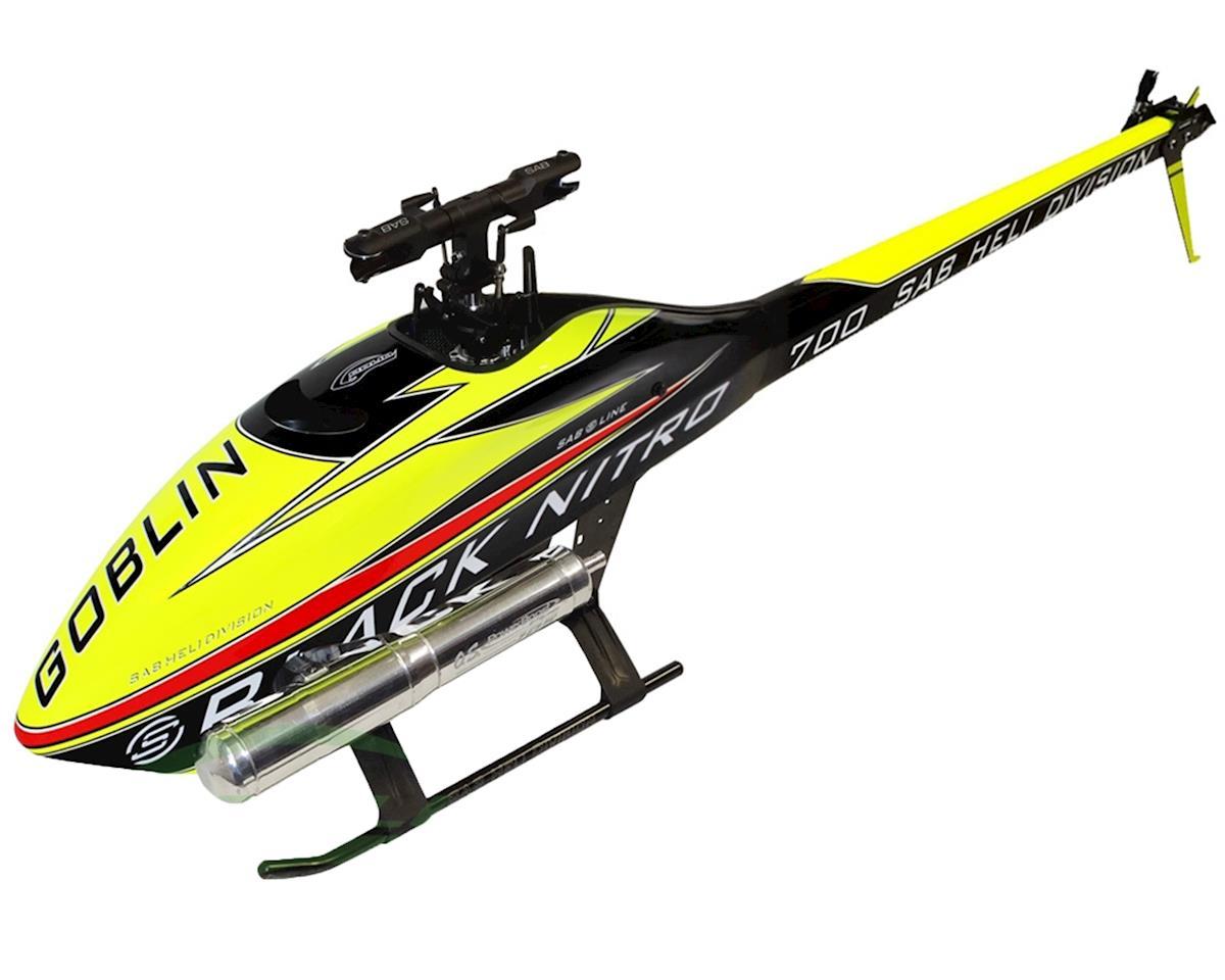 SAB Goblin Thunder Sport 700 Flybarless Nitro Helicopter Kit