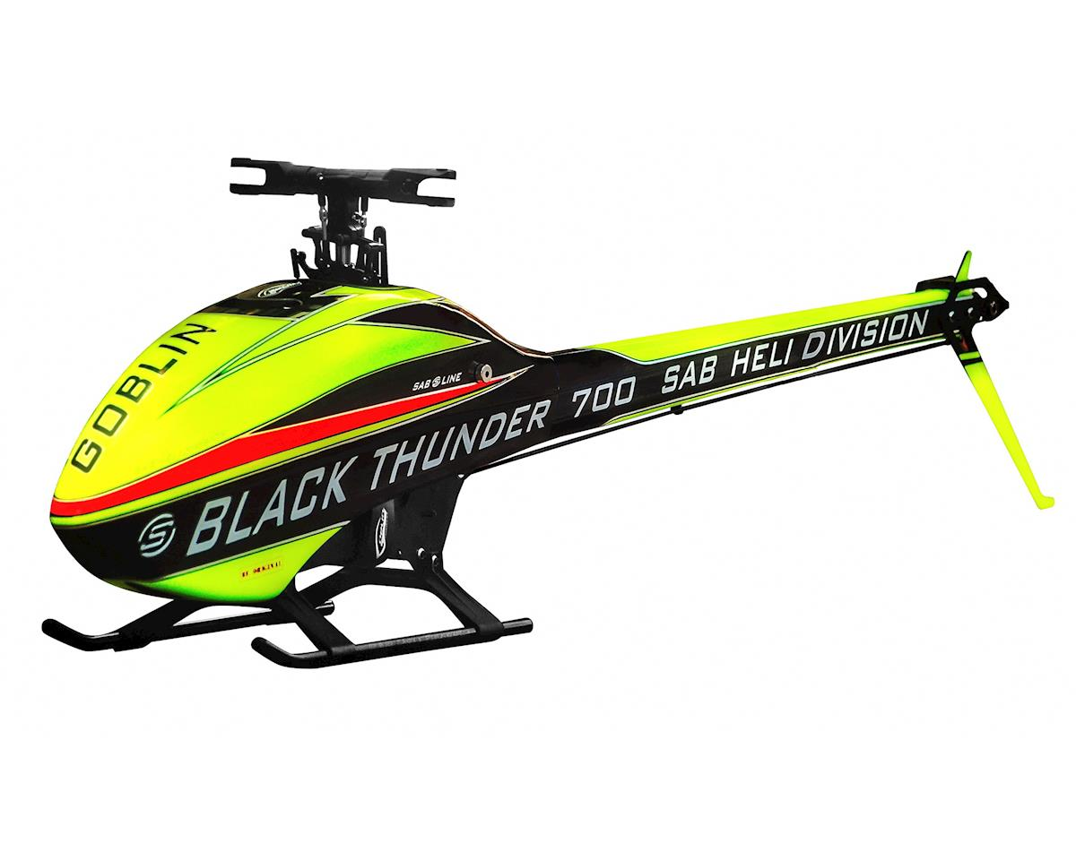 SAB Goblin Thunder Sport 700 Flybarless Electric Helicopter Kit | alsopurchased