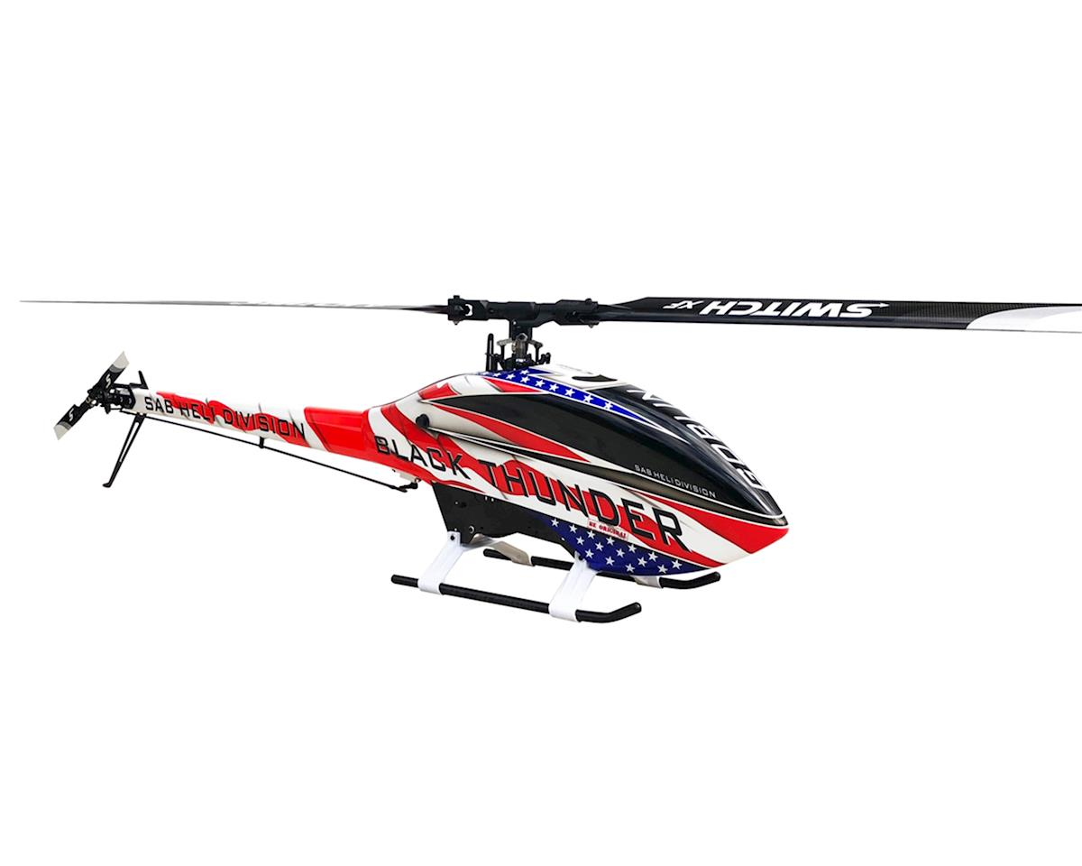 SAB Goblin Thunder Sport Freedom Edition 700 Flybarless Electric Helicopter Kit