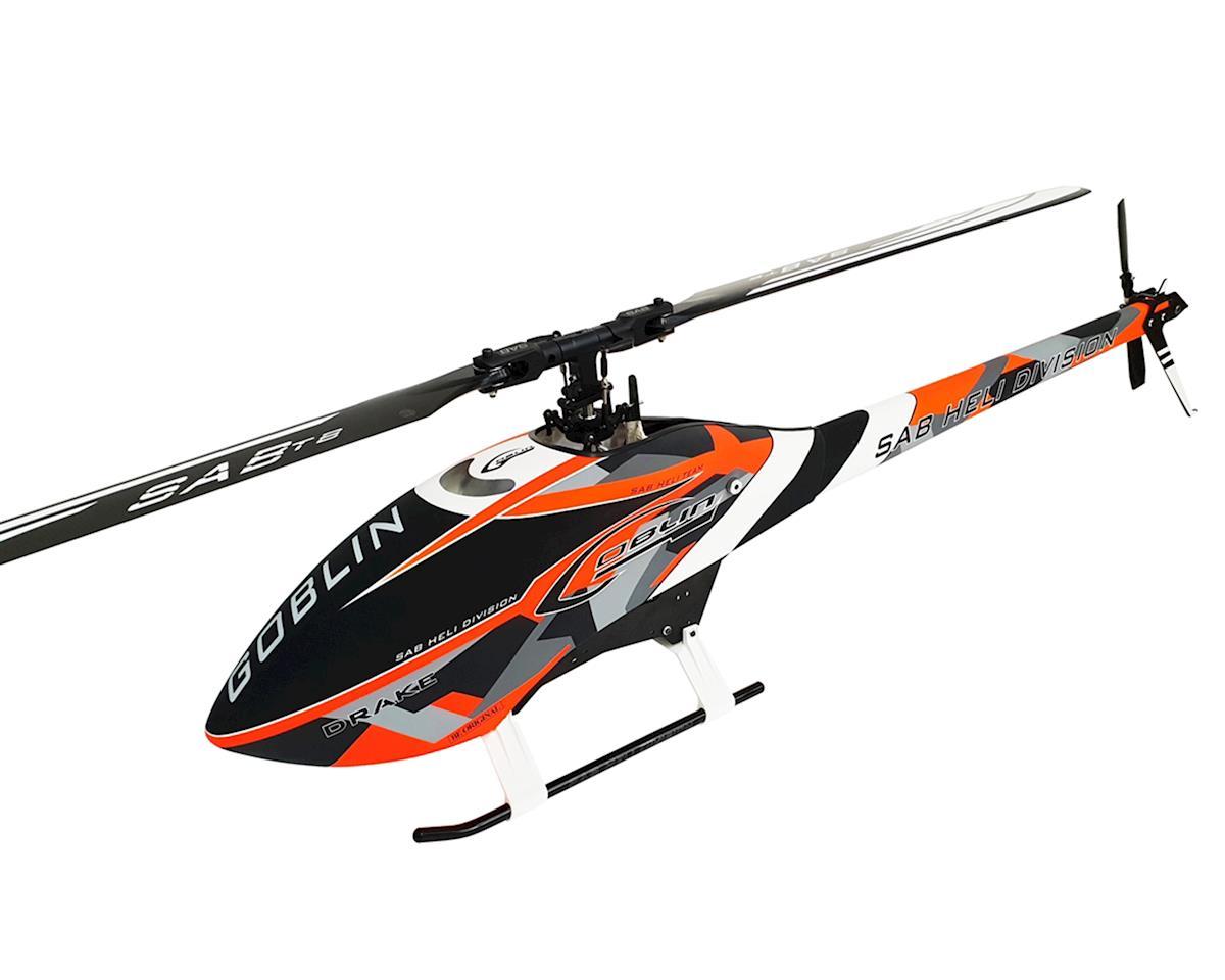 SAB Goblin Thunder Sport 700 Flybarless Electric Helicopter Kit (Drake Edition)