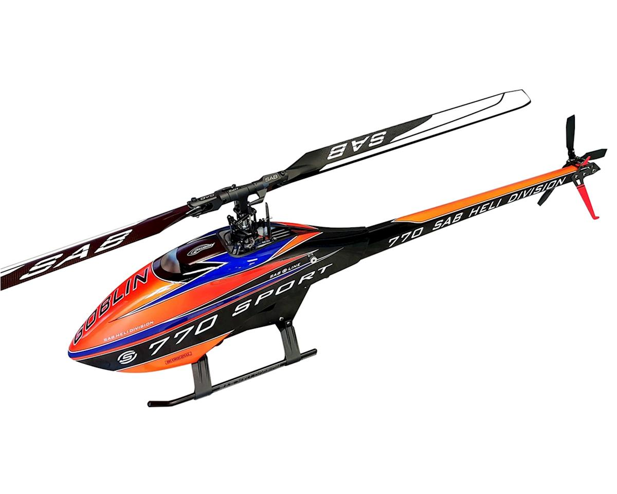 770 Sport Flybarless Electric Helicopter Kit