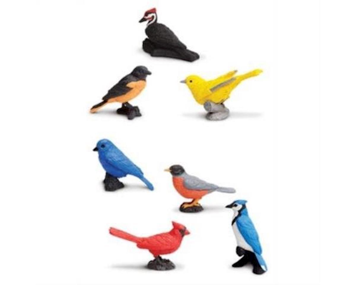 Safari Toob Backyard Birds Toy Figure Playset (7) (Model 678304)