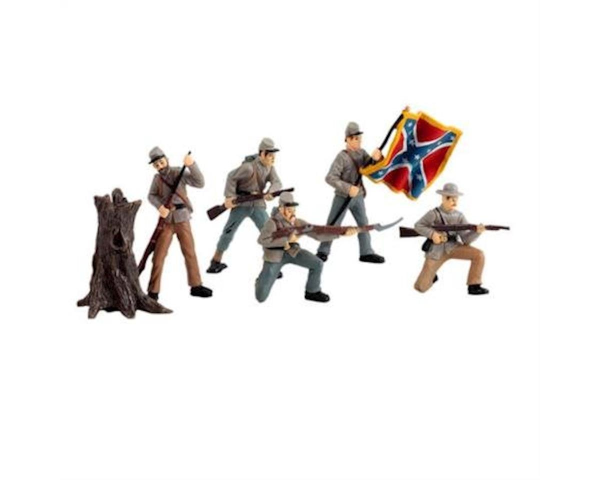 Safari 679004 Safari Confederate Soldiers Toobs: Collection 1