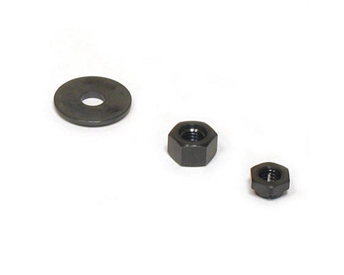 Saito Engines Prop Washer/Nut/Lock: QQ,UU