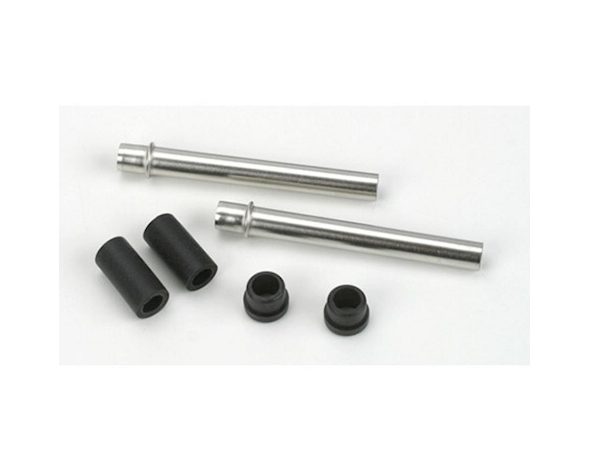 Saito Engines Pushrod Cover & Rubber Seal: AL, AM