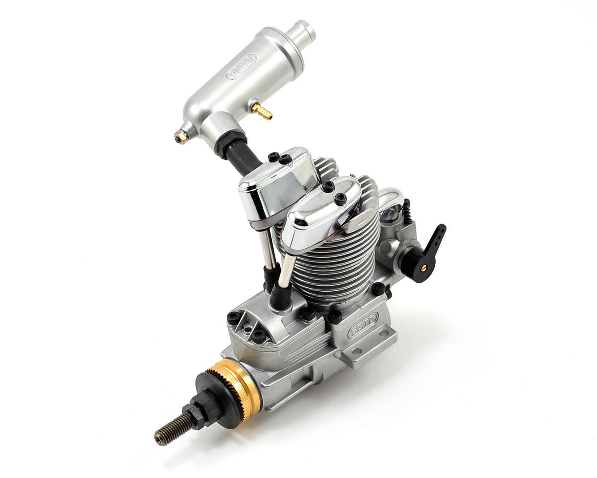 Saito FA-62B AAC 4-Stroke Glow Engine w/Muffler: BX by Saito Engines