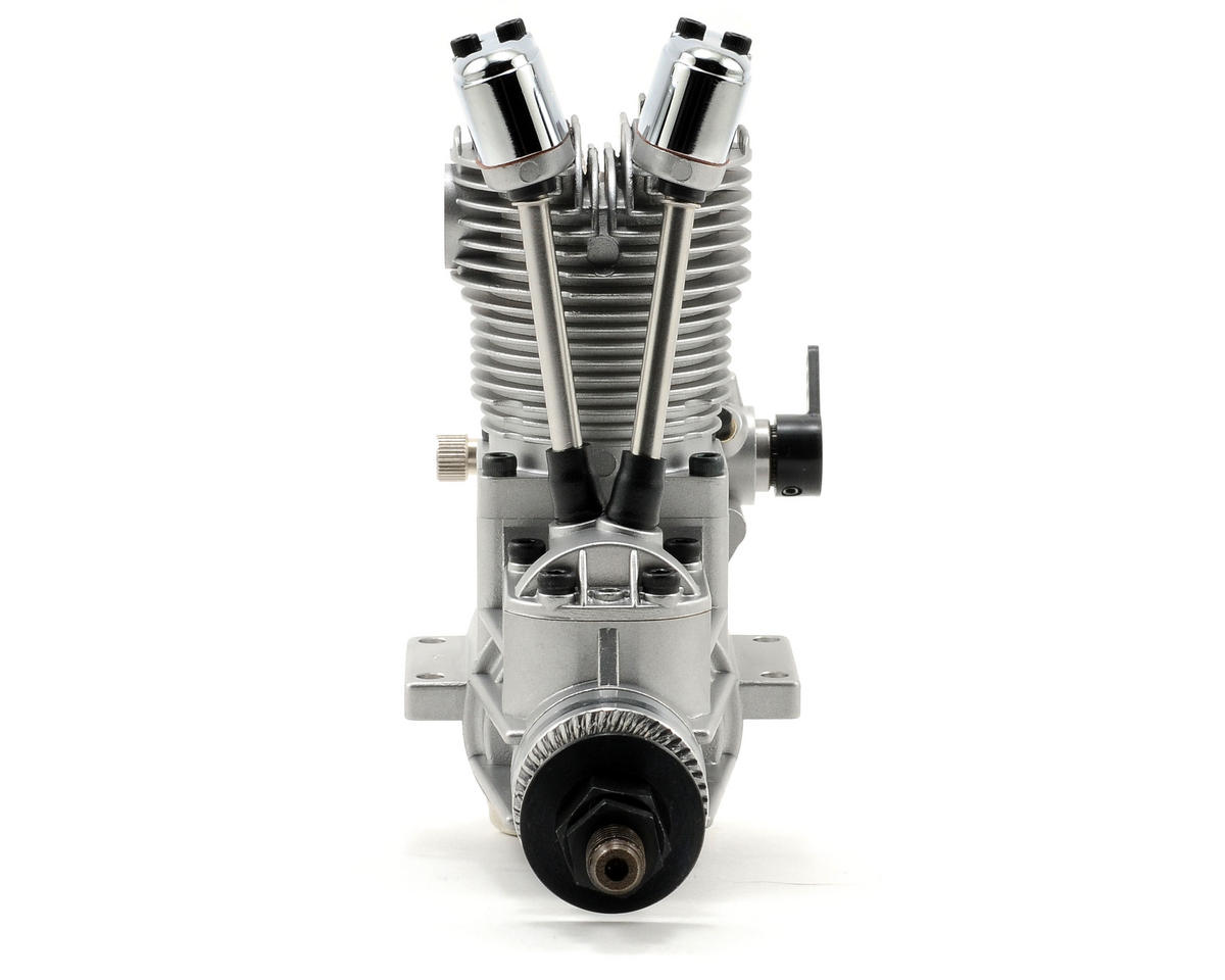 Saito Engines 100 FA-AAC Four Stroke Glow Engine w/Muffler: QQ
