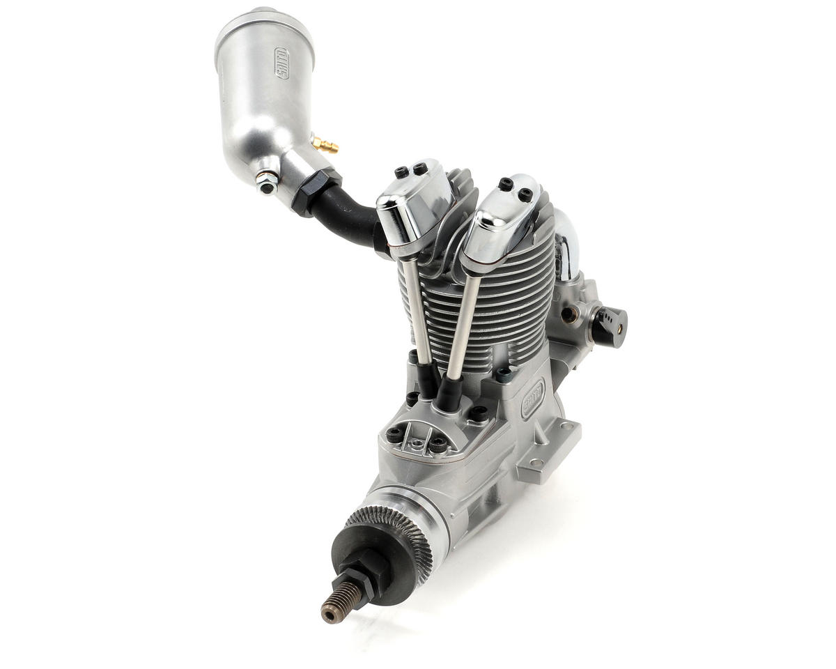 Saito Engines FA-125A AAC Four Stroke Glow Engine w/Muffler: AG