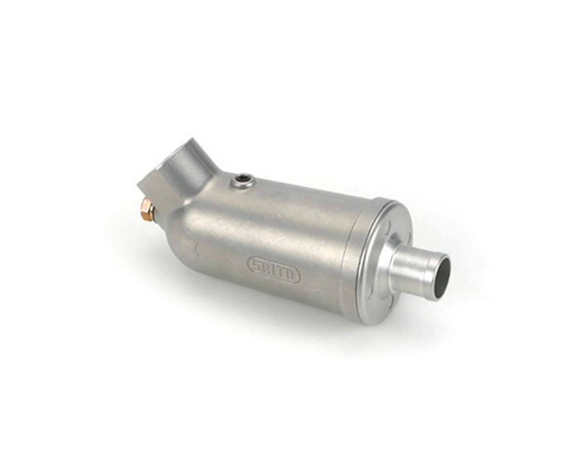 Saito Engines Muffler: FG-36: AK,AT,BO,BP