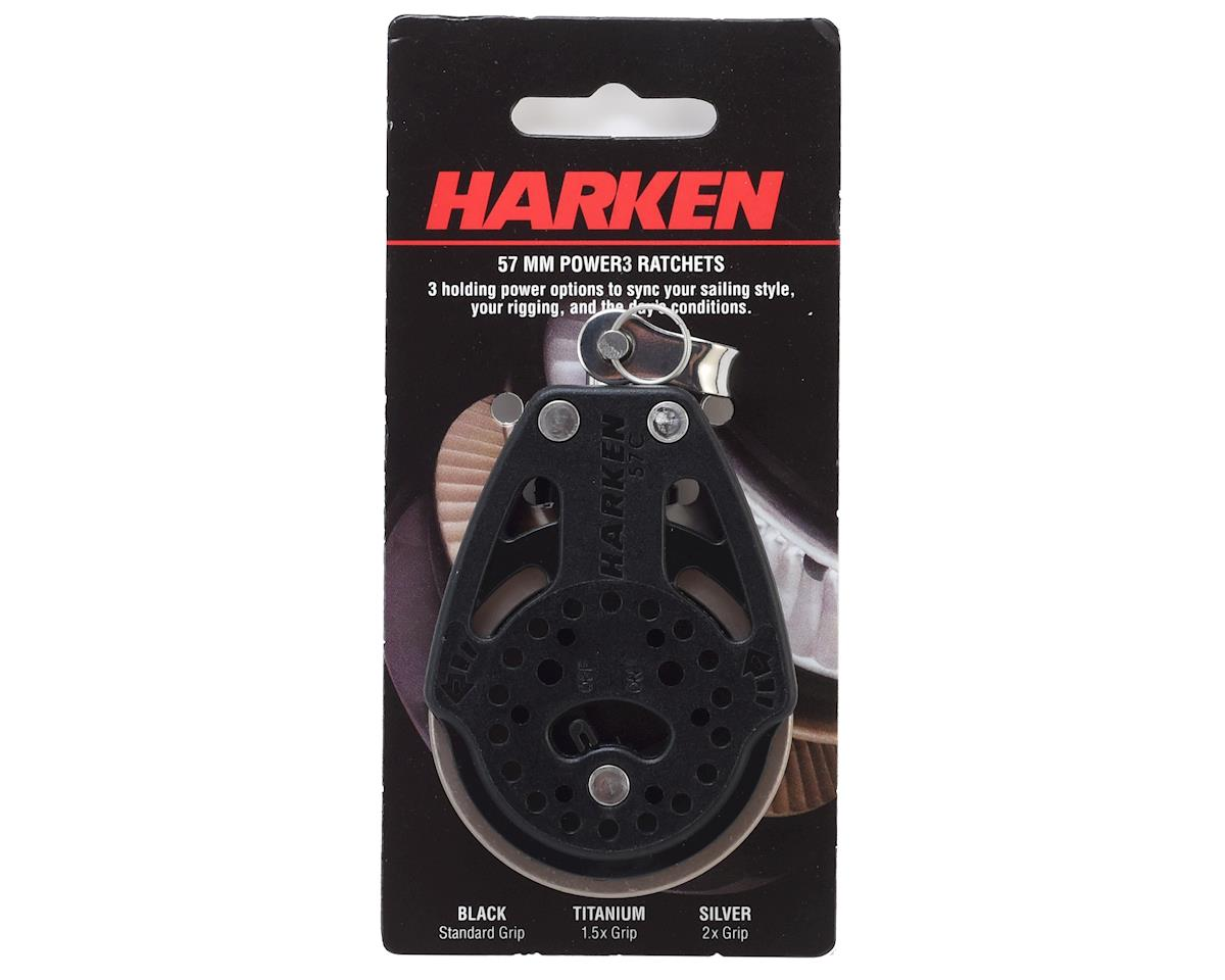 Harken 57mm Ratchet Block 1.5x grip with Swivel and On/Off switch