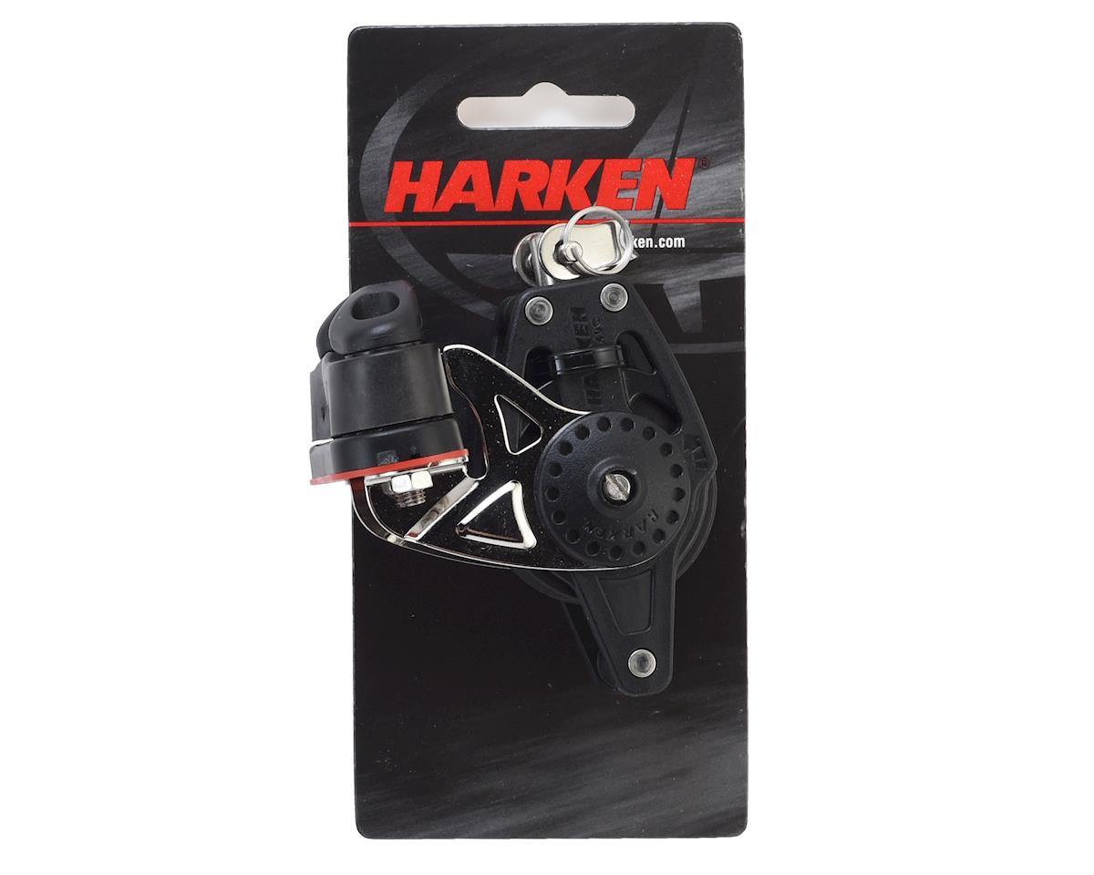Harken 40mm Ratchet Block with Swivel, Becket and Cam Cleat