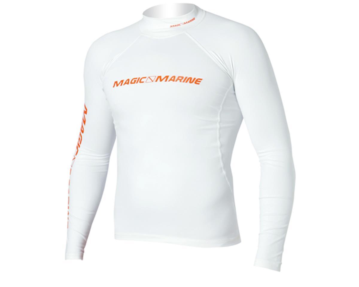 Cube Rash Vest Long sleeve (White) L