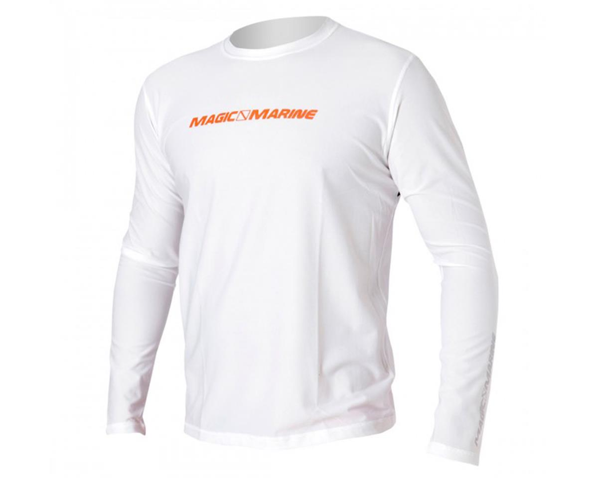 Magic Marine Cube Quick Dry Long Sleeve, White