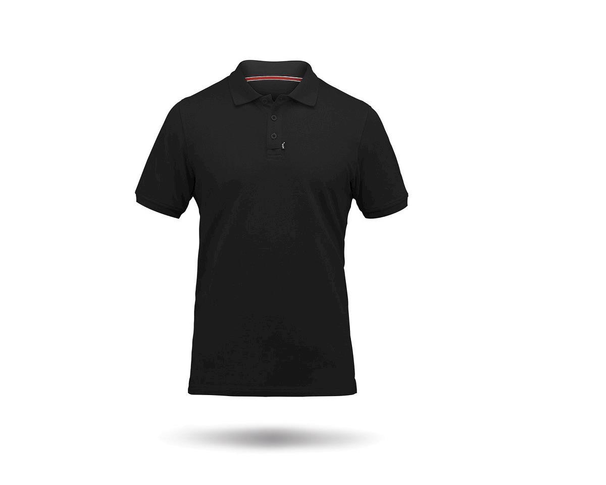 Zhik Cotton Short Sleeve Polo Shirt (Black)