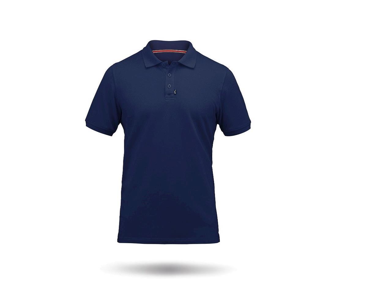 Zhik Cotton Short Sleeve Polo Shirt (Navy)
