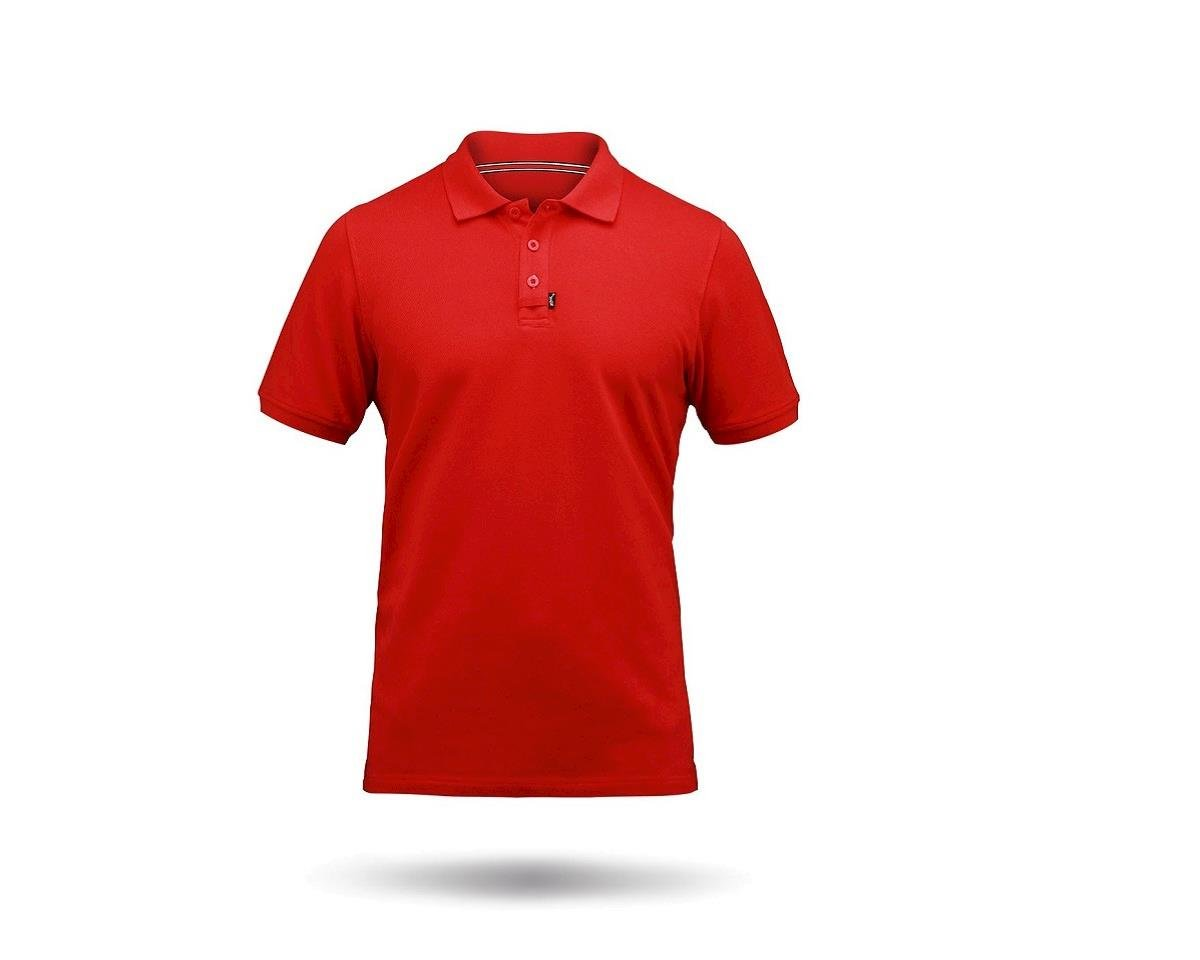 Zhik Cotton Short Sleeve Polo Shirt (Red)
