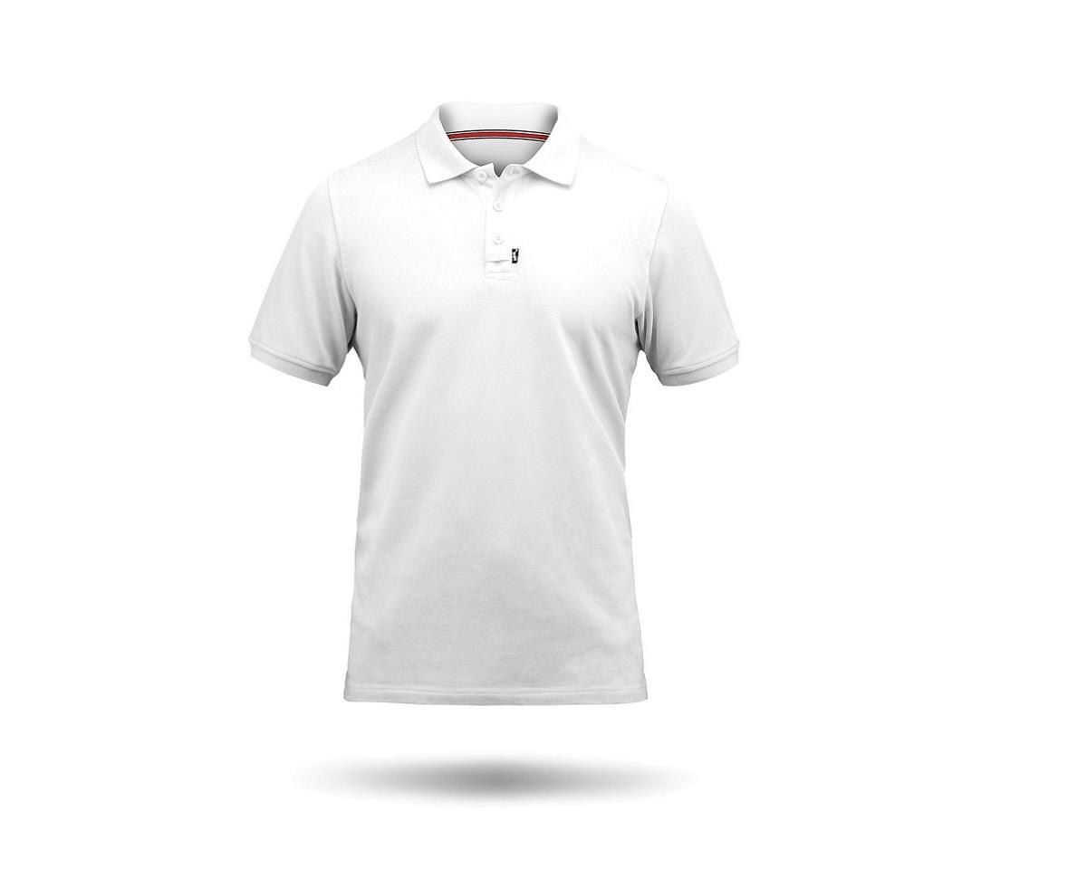 Zhik Cotton Short Sleeve Polo Shirt (White)