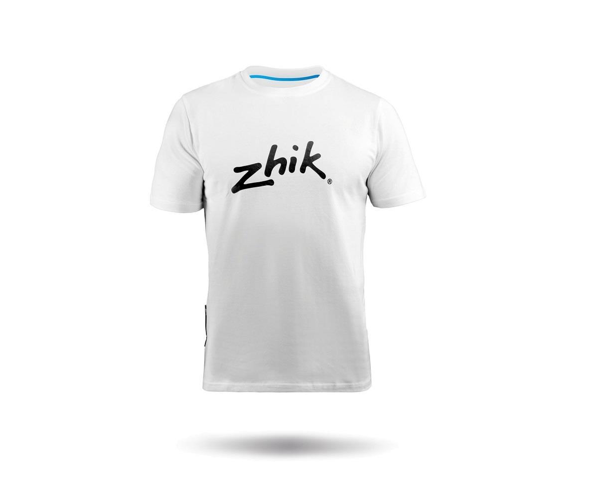 Zhik Cotton Hydrophobic Tee (White)