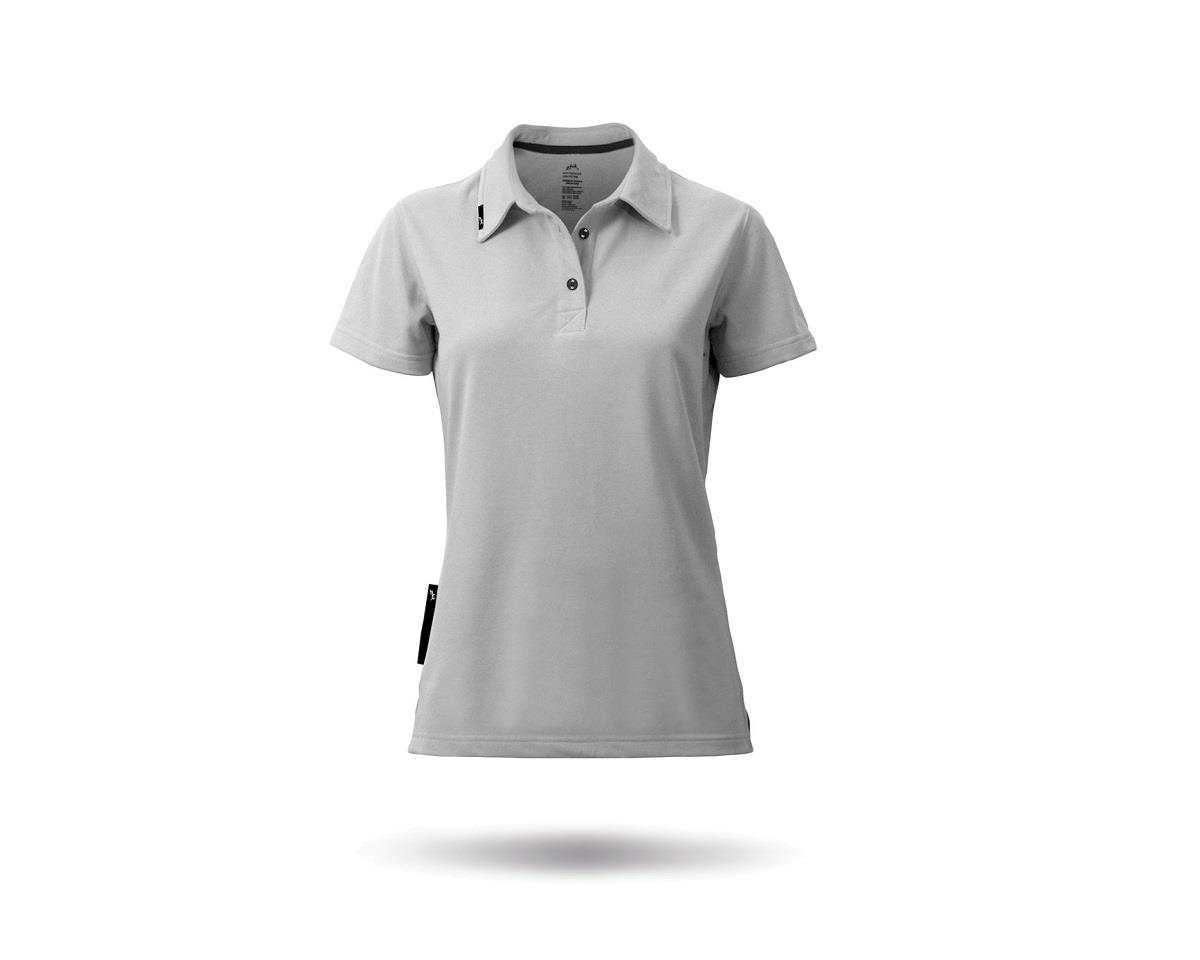 Zhik PolyCotton Short Sleeve Polo Shirt (Ash) (Women)