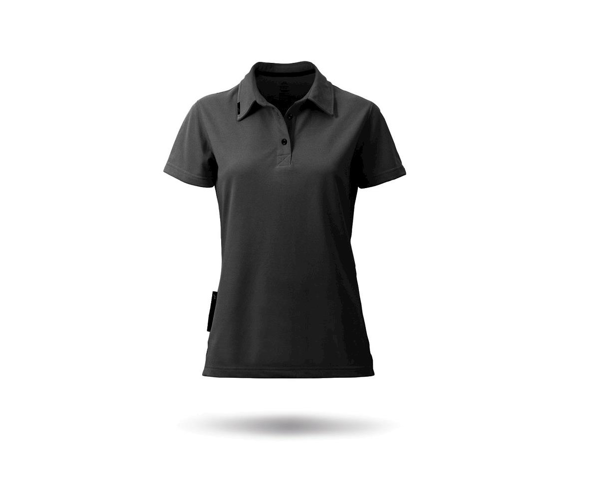 Zhik PolyCotton Short Sleeve Polo Shirt (Black) (Women)