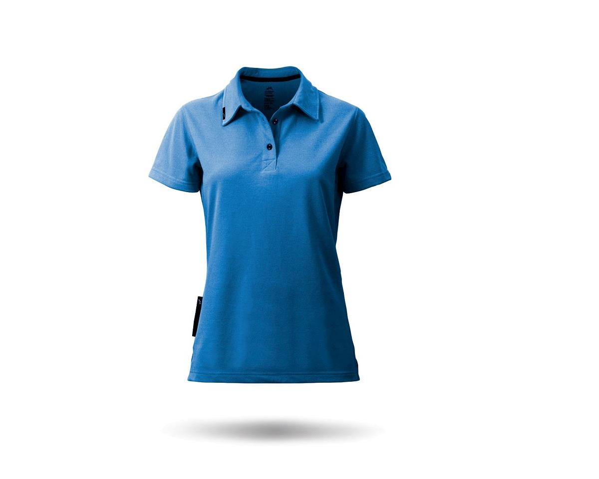 Zhik PolyCotton Short Sleeve Polo Shirt (Blue) (Women)