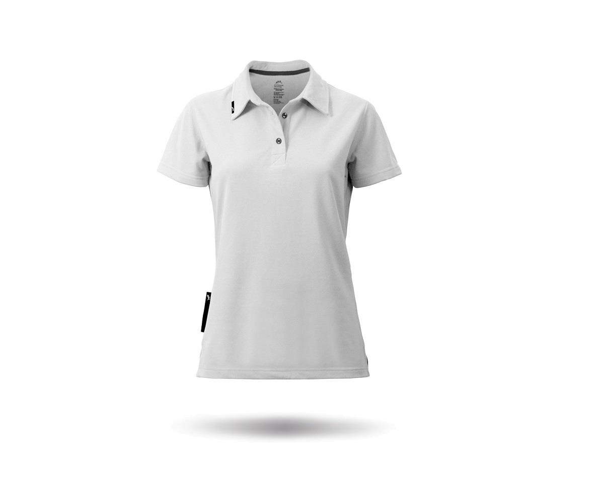 Zhik PolyCotton Short Sleeve Polo Shirt (White) (Women)
