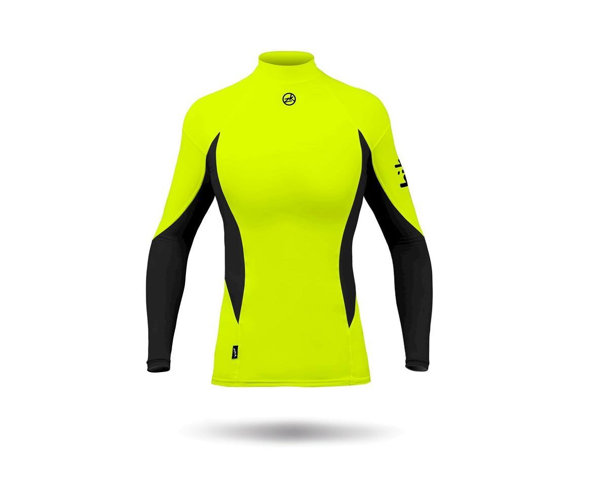 Zhik Spandex Top L/S (HIVIS Yellow) (Women)