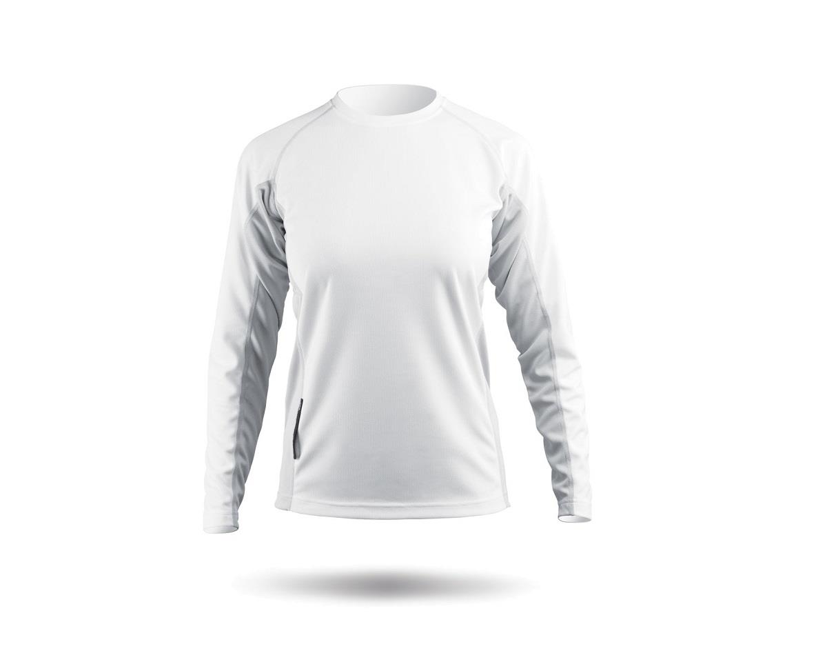 Zhik ZhikDry Long Sleeve Shirt (White) (Women)